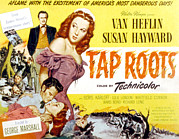 Wartime Prints - Tap Roots, Van Heflin, Susan Hayward Print by Everett