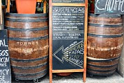 Wine Barrel Photo Originals - Tapas on the Menu by Sophie Vigneault