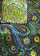 Cosmic Paintings - Tapestry of Life by Wayne Potrafka
