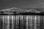Westchester County Framed Prints - Tappan Zee Bridge Twilight III Framed Print by Clarence Holmes