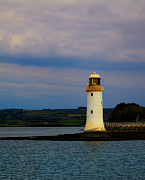 Orientation Metal Prints - Tarbert Lighthouse Metal Print by Gabriela Insuratelu