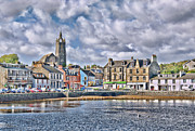 Church Of Scotland Posters - Tarbert -  Loch Fyne Poster by Chris Thaxter
