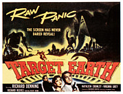 1950s Movies Prints - Target Earth, Bottom Center Kathleen Print by Everett