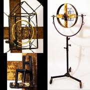 Standing Sculpture Prints - Target Print by Greg Shelnutt