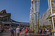 Minnesota Twins Photos - Target Plaza by Tom Gort