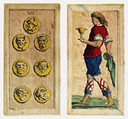 Bologna Photos - Tarot Cards, 1664 by Granger