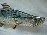 Aquatic Life Reliefs - Tarpon number seven-SOLD by Lisa Ruggiero