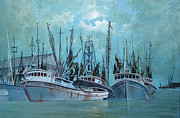 Jim Hubbard Prints - Tarpon Springs Print by Jim Hubbard