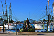 Landmarks Usa - Tarpon Springs Waterfront by Susanne Van Hulst