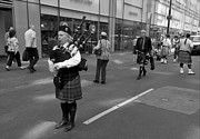 Music And Musicians - Tartan Day Parade NYC 2012  by Robert Ullmann