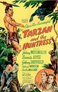 Huntress Framed Prints - Tarzan And The Huntress, Patricia Framed Print by Everett