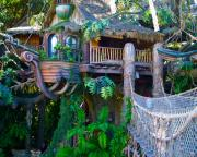 Disneyland Prints - Tarzan Treehouse Print by Karon Melillo DeVega