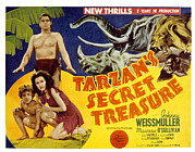 Sullivan Posters - Tarzans Secret Treasure, Johnny Poster by Everett