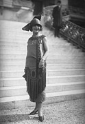 Cloche Hat Photos - Tassel Dress by Seeberger Freres