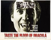 Taste Framed Prints - Taste The Blood Of Dracula, Christopher Framed Print by Everett