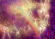 Lightning Digital Art Originals - Tastic by Jeffrey Bunce