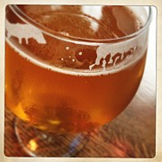 Beer Photos - Tasty Glass of Beer by Lori Knisely