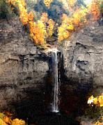 Falls Art - Taughannock Falls by David Lane
