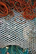 Tavira Nets Print by Skip Hunt
