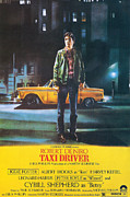 Robert Framed Prints - Taxi Driver - Robert De Niro Framed Print by Nomad Art and  Design