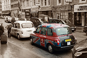 London Taxi Prints - Taxi London  Print by Stefan Kuhn