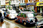 London Taxi Prints - Taxi please Print by Stefan Kuhn