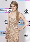 Taylor Swift Posters - Taylor Swift At Arrivals For The 38th Poster by Everett