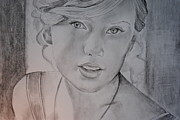 Taylor Swift Art - Taylor Swift by Emily Maynard