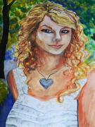 Taylor Swift Art - Taylor Swift by Emily Michaud