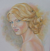 Taylor Swift Paintings - Taylor Swift by Nasko Dimov