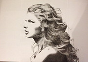 Taylor Swift Art - Taylor Swift by Richie Wentworth