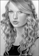 Taylor Swift Art - Taylor Swift by Sandritta Art