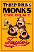 Taylor Three Drunk Monks Print by John OBrien