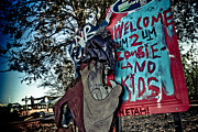 Jazzland Photos - Taz Welcomes You to Zombie Land by Pixel Perfect by Michael Moore