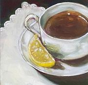 Tea Originals - Tea and Lemon by Kristine Kainer