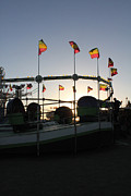 Whirligig Photos - Tea Cups at Sunset by Alycia Christine