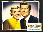 Doris Day Framed Prints - Tea For Two, From Left Doris Day Framed Print by Everett