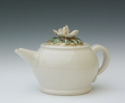 Landscapes Ceramics - Tea in the Garden by Sylvia Shirley