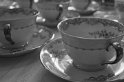 Cup Of Tea Photos - Tea Party by Annie  Lynn