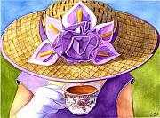 Calla Paintings - Tea Party by Catherine G McElroy