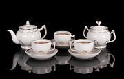 Glass Reflecting Originals - Tea set by Konstantin Gushcha