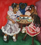 African-american Originals - Tea Time by Amira Najah Whitfield