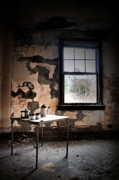 Abandoned Buildings Photo Prints - Tea Time Print by Emily Stauring