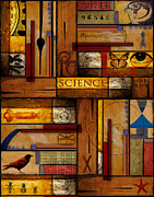 Rectangle Prints - Teacher - Science Print by Carol Leigh