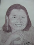 Mother Paintings - Teacher Leah by SAIGON De Manila 