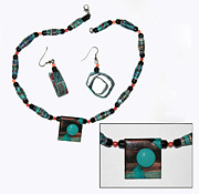 Adele Jewelry Originals - Teal Me In by Adele Greenfield