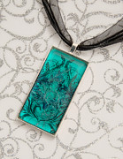 Photography Jewelry Originals - Teal by Melissa Huber