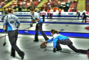 Team Originals - Team Quebec Throws by Lawrence Christopher