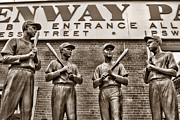 Ted Williams Prints - Teammates 2 Print by Joann Vitali