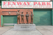 Baseball Art Prints - Teammates Print by Clarence Holmes